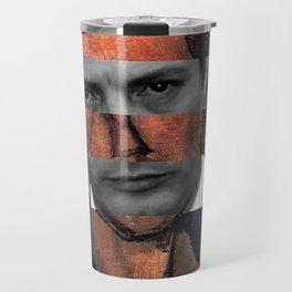 "Modigliani ""Portrait of a Poet"" & Marcello Mastroianni Travel Mug"