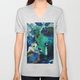 The Wonders of the World, Tiny World Collection Unisex V-Neck