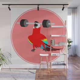 Heavy weight parrot Wall Mural
