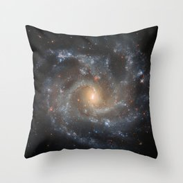 29. Hubble Spots Galaxy's Dramatic Details Throw Pillow