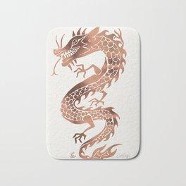 Chinese Dragon – Rose Gold Palette Bath Mat