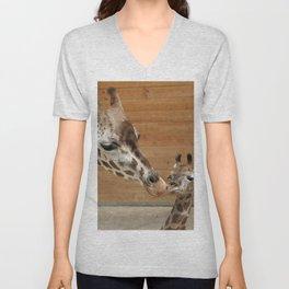 Giraffe 002 Unisex V-Neck