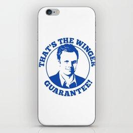 Winger Guarantee iPhone Skin