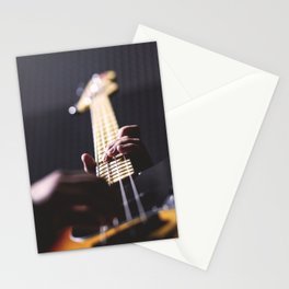 Guitarist Stationery Cards