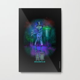 Hat Box Ghost by Topher Adam Metal Print