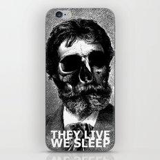 THEY LIVE WE SLEEP iPhone & iPod Skin