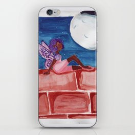 Fairy in the Moonlight iPhone Skin