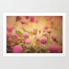 Love Blush Art Print