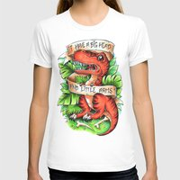 t rex T-shirts featuring T-Rex by Little Lost Forest
