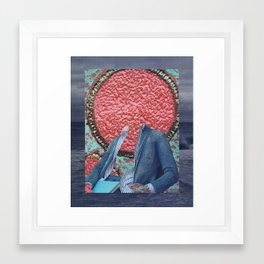 99 - just chillin' in the cell Framed Art Print