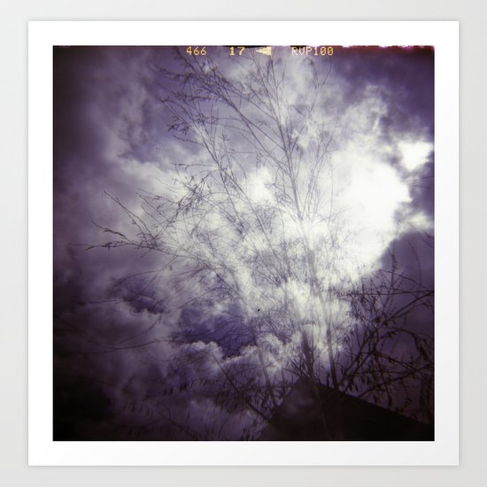 Lomographic Sky 1 Art Print