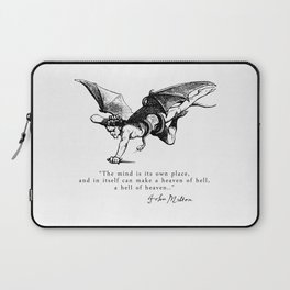 Heaven and Hell Laptop Sleeve