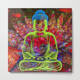 Our enjoyment and our peace are in harmony Metal Print