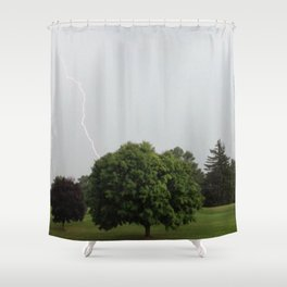 Synapse Shower Curtain