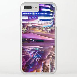 Pleasant Rain Clear iPhone Case