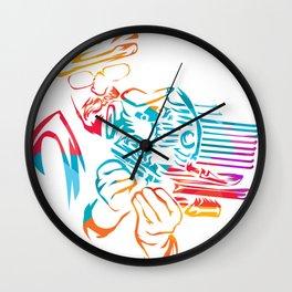 Motorbike Mechanic Gift Wall Clock