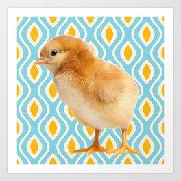 Chickie D Art Print