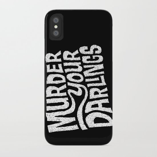 Murder Your Darlings iPhone Case