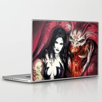 warcraft Laptop & iPad Skins featuring Blood Rituals by BAXA by baxaart