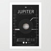 OMG SPACE: Jupiter 1970 - 2010 Art Print