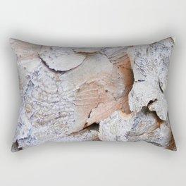 Tree Bark rustic decor Rectangular Pillow