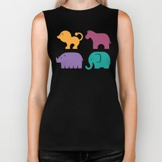 Fun at the Zoo: Pattern Biker Tank