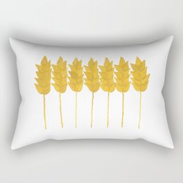 Golden wheat Rectangular Pillow