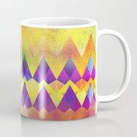 camping Mugs featuring Camping Dreams by Gréta Thórsdóttir