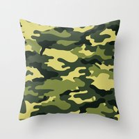 """military Throw Pillows featuring Military  by """"CVogiatzi."""