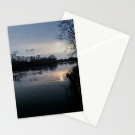 A Bend in the River Stationery Cards