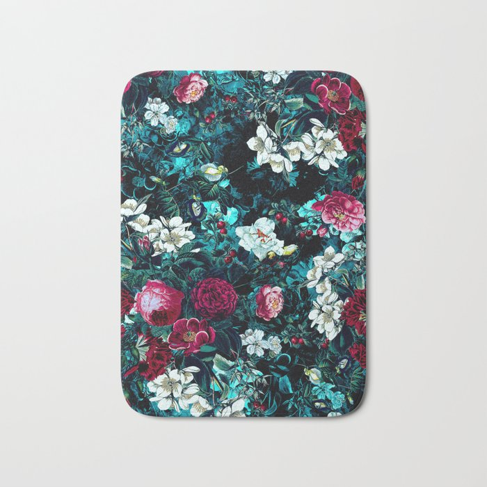 Night Garden IX Bath Mat