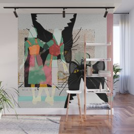 Doppelganger Party Wall Mural