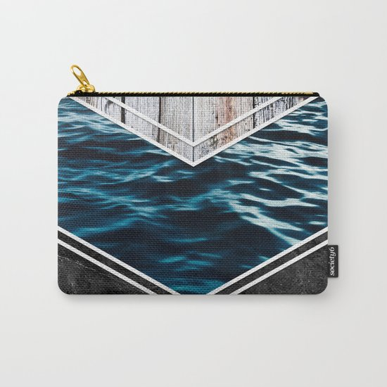 Striped Materials of Nature IV Carry-All Pouch