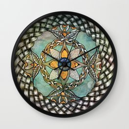 Mindful Passage Celtic Knot Wall Clock