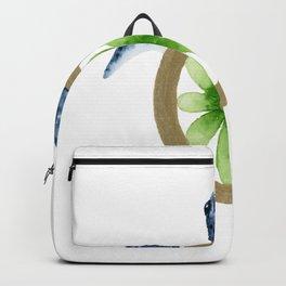 Flower Turtle Backpack