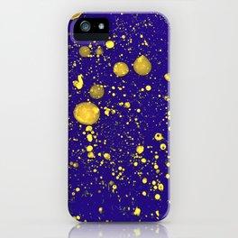 Blue Adagio iPhone Case