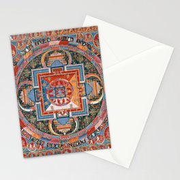 Mandala of Jnanadakini Stationery Cards