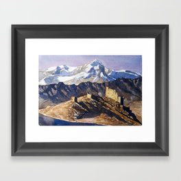Ancient Echoes Framed Art Print