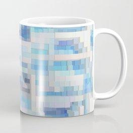 Abstract blue pattern 2 Coffee Mug