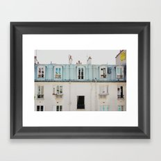 Paris Nº9 Framed Art Print