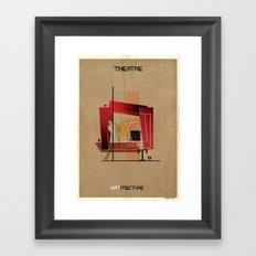 04_Theatre_ARTitecture Framed Art Print