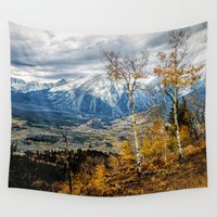 gore Wall Tapestries featuring Colorado Autumn by AwakeningLight