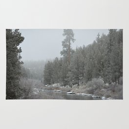 Old Ponderosa On The Deschutes River Rug
