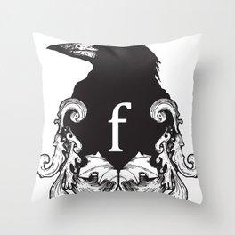 f-rook Throw Pillow