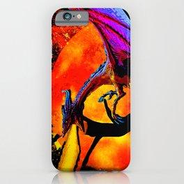DRAGON FIRE HARVEST MOON DREAM iPhone Case
