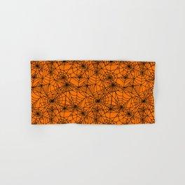 Halloween Cobwebs Hand & Bath Towel