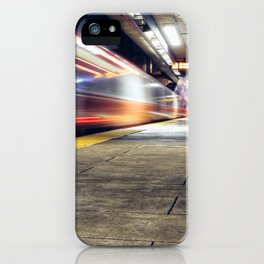 Traveling on Light Streams iPhone Case