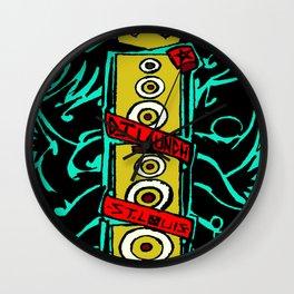 Bass Tribe Wall Clock