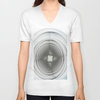 bass V-neck T-shirts featuring Bass by Fine2art