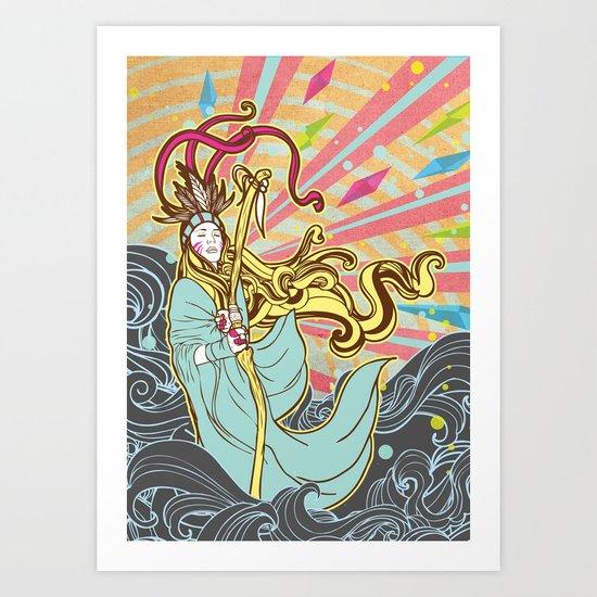 The Healer Art Print
